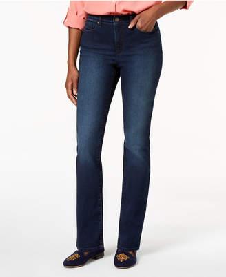 Charter Club Curvy Straight-Leg Jeans
