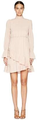 See by Chloe Tie Neck Dress Women's Dress
