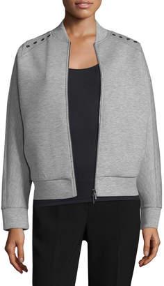 Armani Exchange Women's Grommet Jacket
