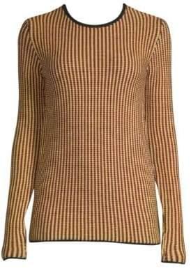 Derek Lam Stripe-Knit Wool Sweater