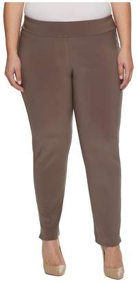 Krazy Larry Plus Size Microfiber Long Skinny Dress Pants Women's Dress Pants