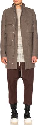 Rick Owens Field Jacket $2,282 thestylecure.com