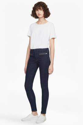 French Connenction Rebound Zip Skinny Jeans