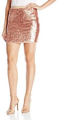 BCBGMAXAZRIA Women's Percy Sequins Mini Skirt
