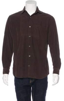 Hartford Corduroy Button-Up Shirt