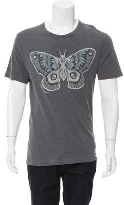 Gucci Kris Knight Butterfly Print T-Shirt
