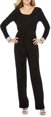 BLU SAGE Blu Sage Long Sleeve Jumpsuit