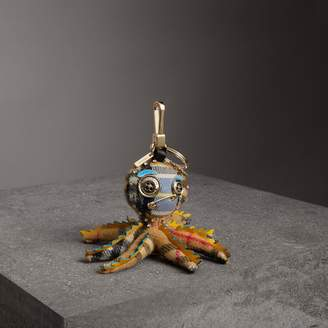 Burberry Sally The Octopus Cashmere Charm