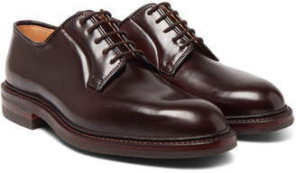 George Cleverley Archie Cordovan Leather Derby Shoes