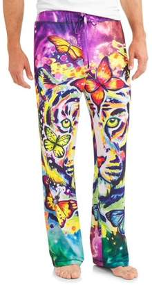 Unbranded Technicolor Tiger Men's Sublimated Sleep Pants