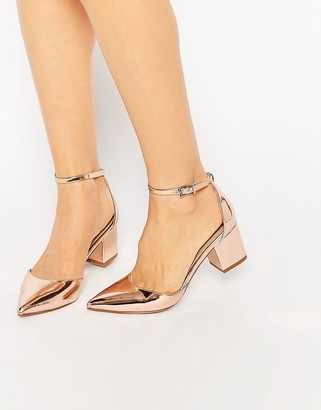 ASOS SPACE Pointed Heels $58 thestylecure.com