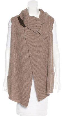 Brochu Walker Wool & Cashmere-Blend Vest $185 thestylecure.com