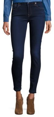 7 For All Mankind Released Hem Skinny Jeans $179 thestylecure.com
