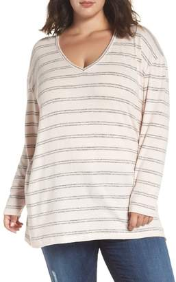 BP V-Neck Stripe Top