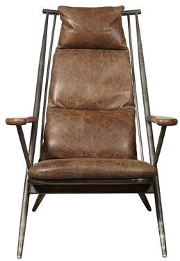 Highway Chief Leather Armchair