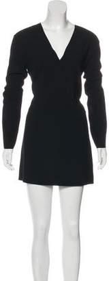 IRO Crepe Blouson Dress