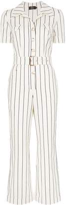 De La Vali Camino striped jumpsuit