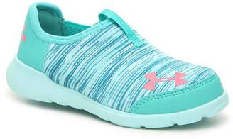 Under Armour Superflex Toddler Slip-On Sneaker - Girl's