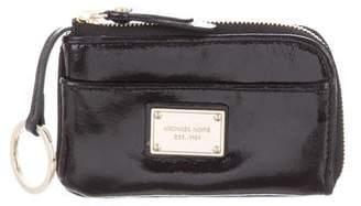 Michael Kors Patent Leather Key Pouch