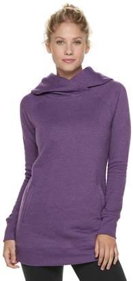 Tek Gear Women's Fleece Raglan Tunic Hoodie