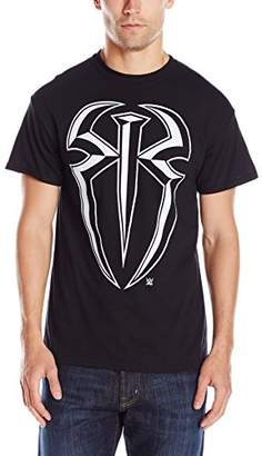 WWE Men's Roman Reigns Logo Men's T-Shirt