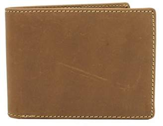 Vagabond Traveler Men's Full Grain Leather Cowhide Classic Wallet