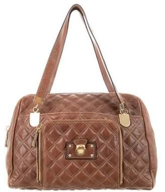 Marc Jacobs Leather Handle Bag Brown Leather Handle Bag