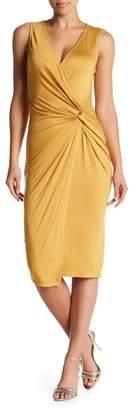 Soprano Twist Front Knit Dress