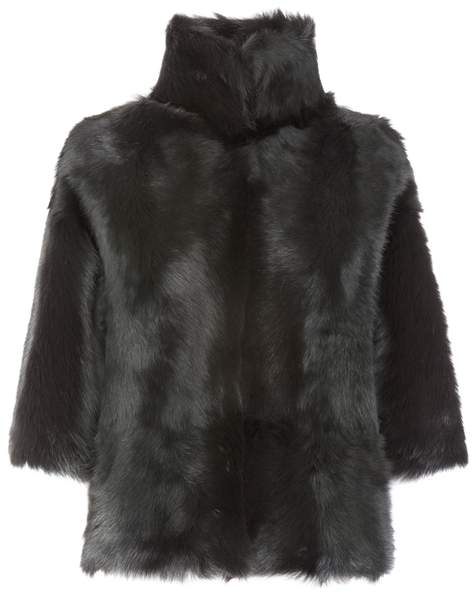 Gushlow & Cole Funnel Collar Shearling Jacket