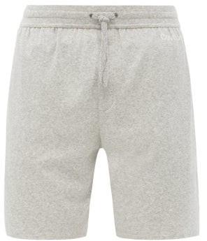 Calvin Klein Underwear Logo Print Pyjama Shorts - Mens - Grey
