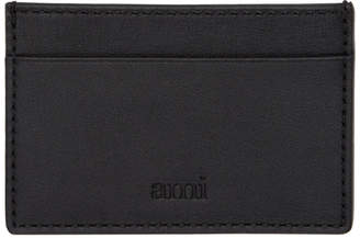 Ami Alexandre Mattiussi Black Leather Card Holder