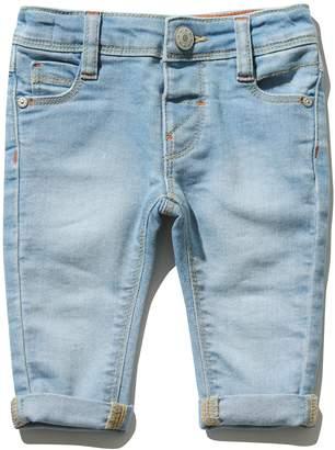 M&Co Light wash stretch jeans