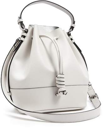 Forever 21 Textured Faux Leather Bucket Bag