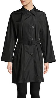 Max Mara Single Breasted Trench Raincoat