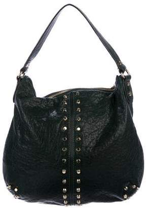 MICHAEL Michael Kors Studded Leather Satchel