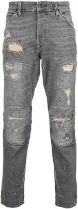 G Star G-Star panelled distressed jeans