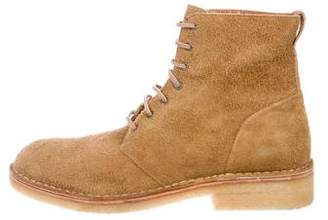 Rag & Bone Military Suede Boots