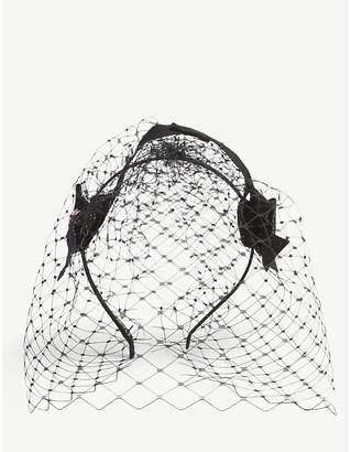 Stephen Jones Sweet netting ribbon headpiece