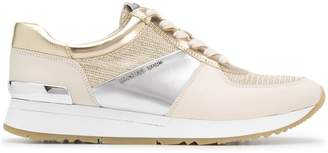 Michael Kors logo plaque sneakers