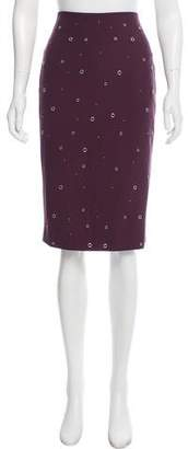 Elizabeth and James Grommet-Accented Pencil Skirt w/ Tags
