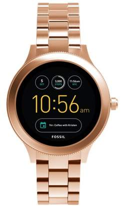 24064384cee Fossil Gen 3 Smartwatch enture Rose Gold-Tone Stainless Steel Jewelry