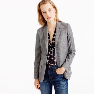 Collection Ludlow blazer in glen plaid wool $325 thestylecure.com