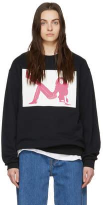 Calvin Klein Jeans Est. 1978 Black Icon Printed Sweatshirt