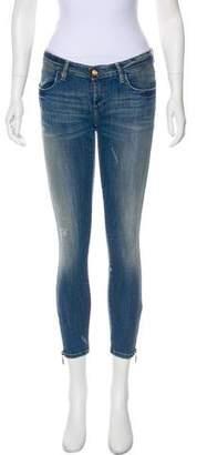 Plein Sud Jeans Low-Rise Skinny Jeans. w/ Tags