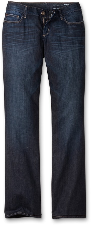 Eddie Bauer Curvy Fit Boot Cut Jeans - Discontinued