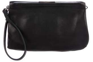 Marni Leather Frame Wristlet