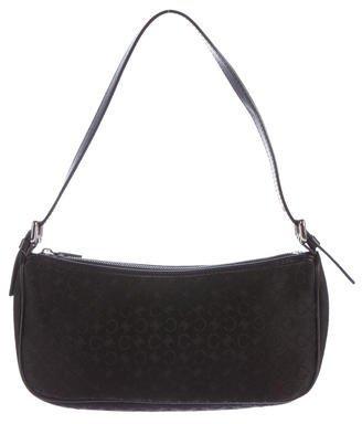 CelineCéline Leather-Trimmed Shoulder Bag