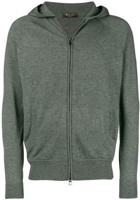 Loro Piana zip hoodie
