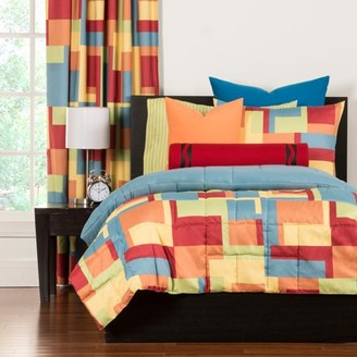 Crayola Paint BoxFull/Queen Comforter Set