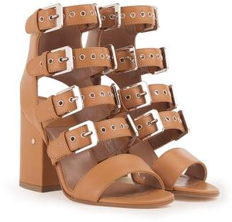 Laurence Dacade Kloe Buckled Leather Sandals
